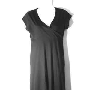 Chadwick's Capped Sleeve Cotton Dress 4p